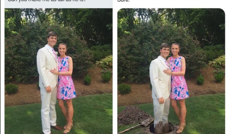 Ljudi mu šalju svoje fotografije kako bi se zezao sa njima. Prati ga 2 miliona ljudi i svi umiru od smeha