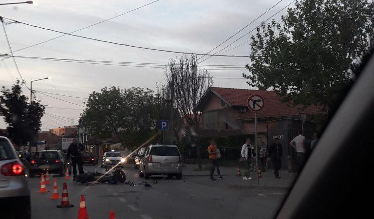 Udes u ulici Čede Vasovića (FOTO)