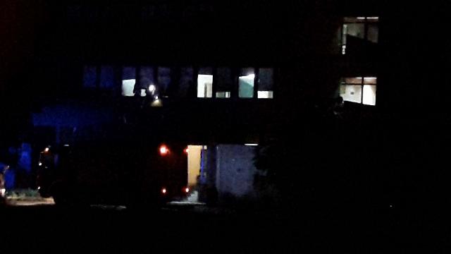 Vatrogasci spasioci intervensali u požarevačkoj bolnici (VIDEO)