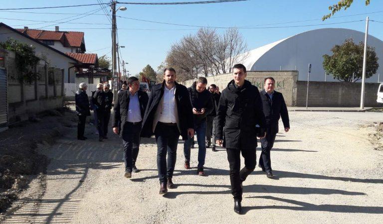 Gradonačelnik u Dalmatinskoj, uskoro kraj višegodišnjih radova na infrastrukturnom opremanju ove ulice